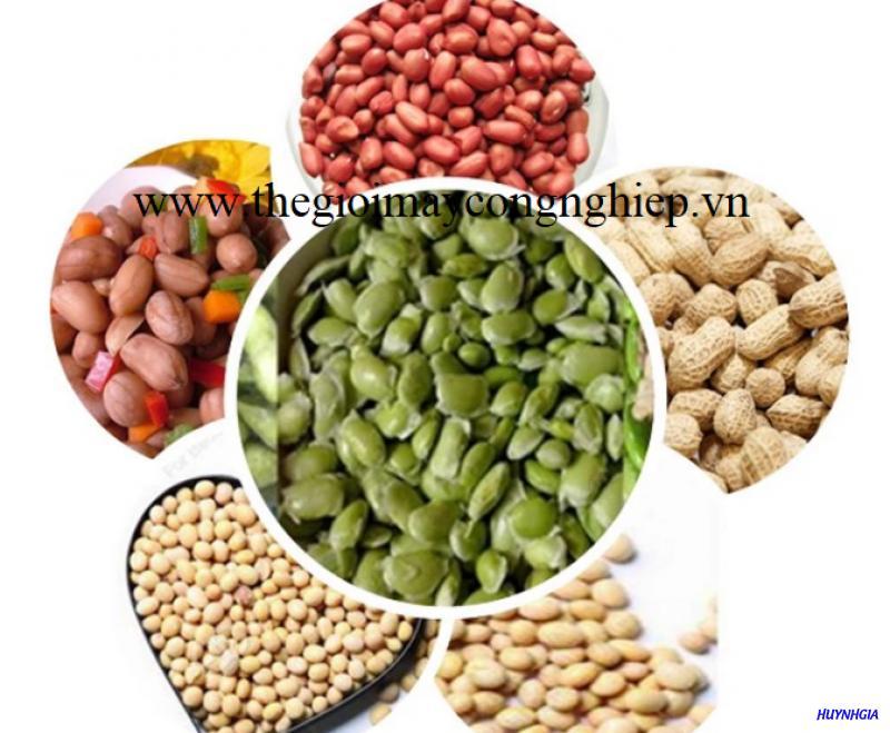 Máy tách vỏ ngoài các loại đậu – Thiết bị tách vỏ đậu xanh, đậu nành, đậu tương,…