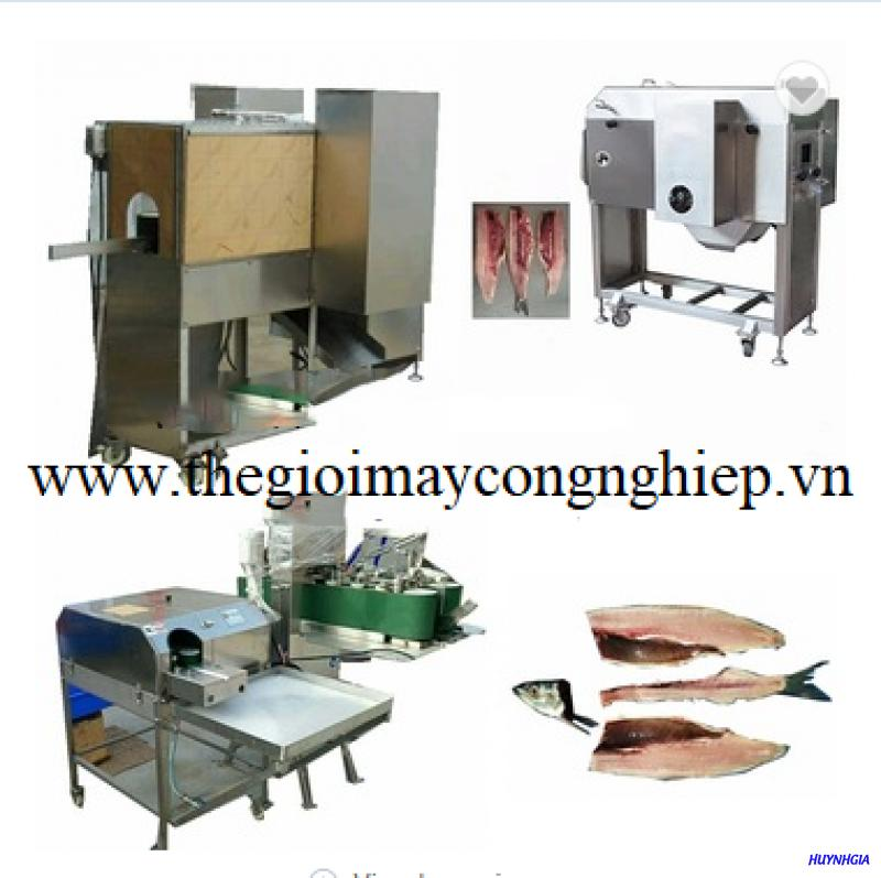 Máy tách xương cá tự động – Máy phi lê cá tự động hóa