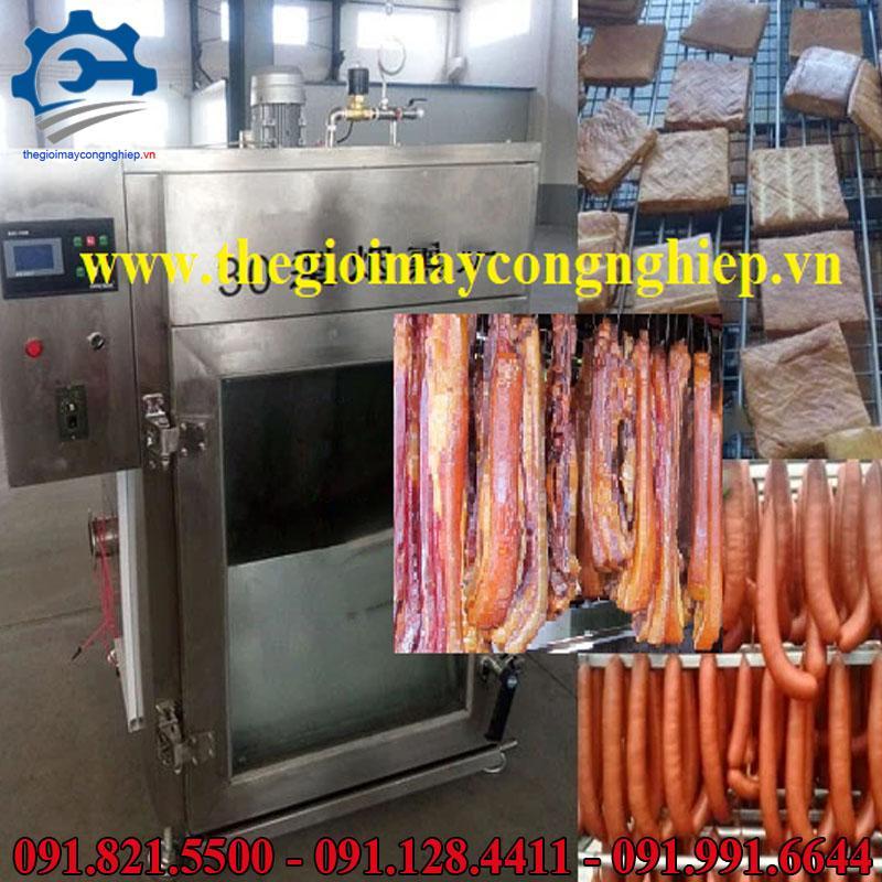 Máy hun khói đa chức năng – Thiết bị xông khói gà, cá, vịt, xúc xích tự động bán chạy nhất