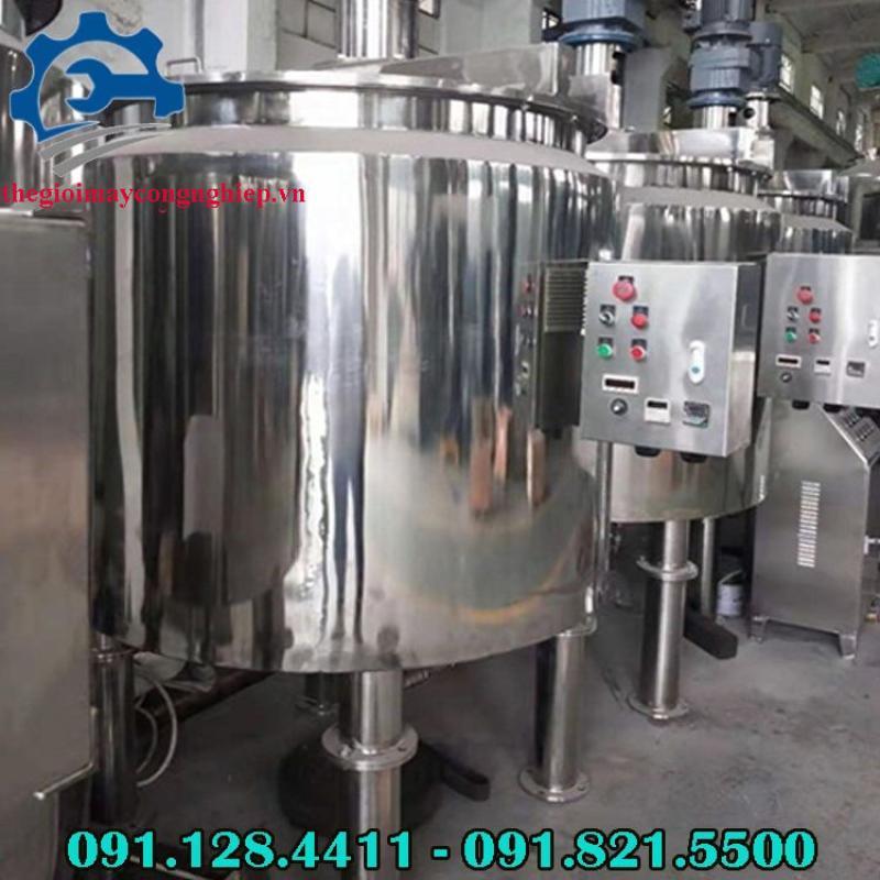 Gia công bồn khuấy trộn thực phẩm, mỹ phẩm công nghiệp chất lượng