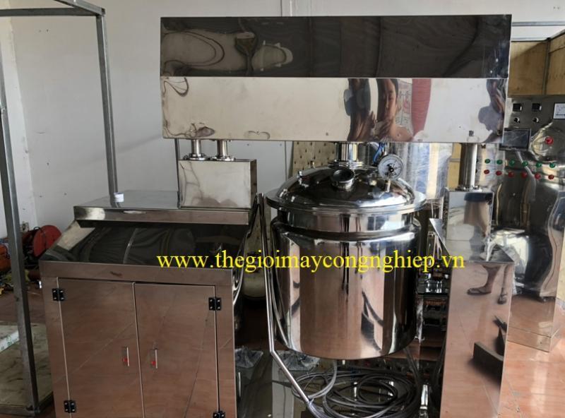 Máy đồng hóa mỹ phẩm – Nồi nấu mỹ phẩm, máy nấu mỹ phẩm