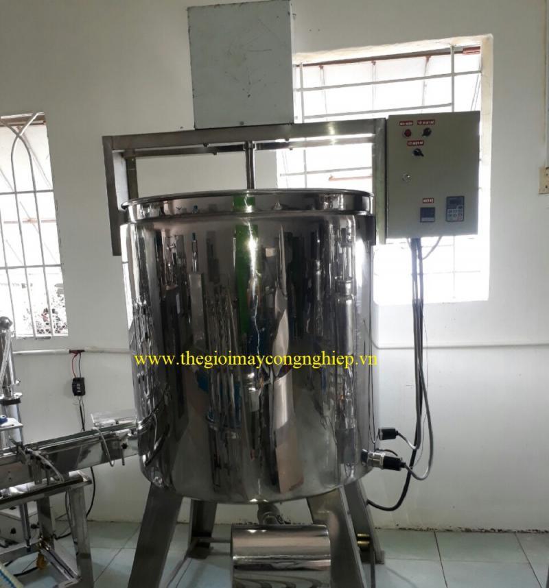 Máy sản xuất nước rửa chén – Máy sản xuất dầu gội, sữa tắm