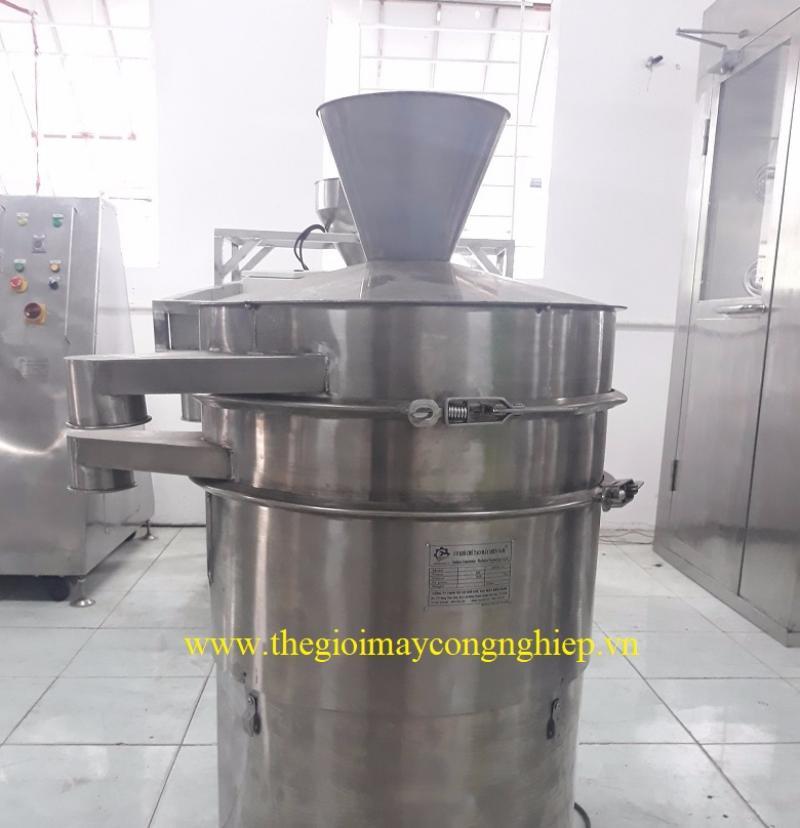 Máy sàng tròn – Máy sàng nguyên liệu thuốc, thực phẩm, kim loại, hóa chất dạng tròn